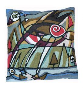 Kussen Picasso vogel