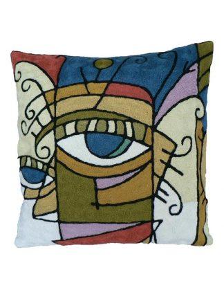 Kussen Picasso gezicht