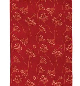 Wollen tapijt rood