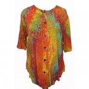 Batik blouse Normal Crazy
