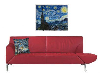 jori rood met Van Gogh