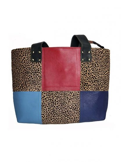 leren shopper panter kant 2