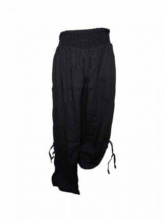 Zwarte broek van viscose