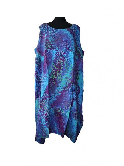 plussize batik jurk Laila