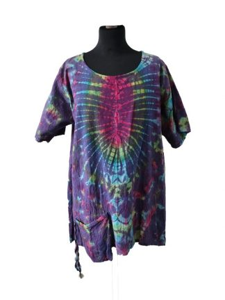 Blouse tiedye 1 pocket