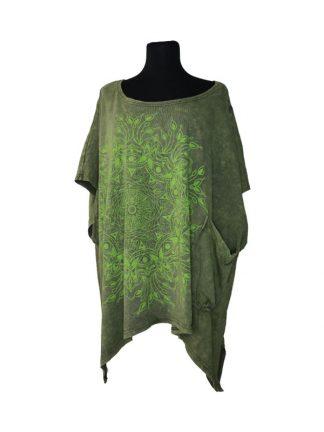oversized tshirt groen