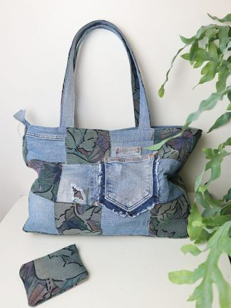 handgemaakte tas spijkerbroek
