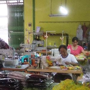 Naai atelier in Bali