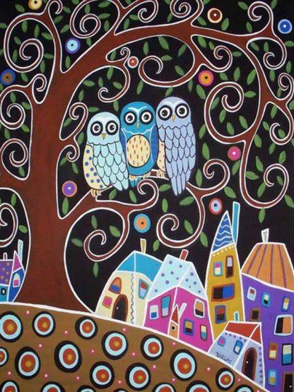 Karla Gerard Three Owls