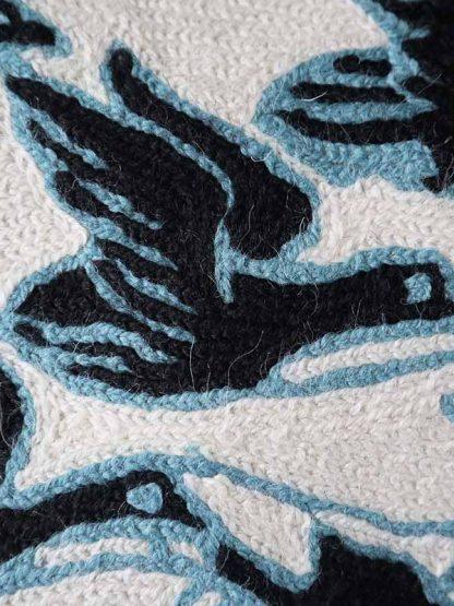 Kussen Escher close-up