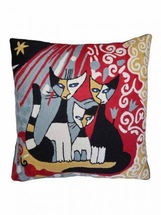 Kattenkussen Rosina Wachtmeister