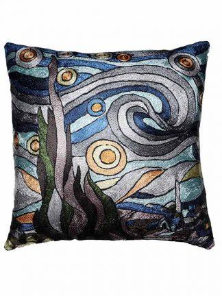 Van Gogh sterrennacht blauw