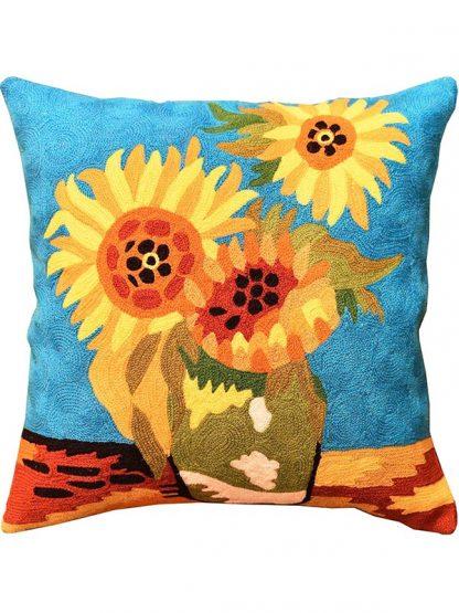 Sierkussen Van Gogh Zonnebloemen