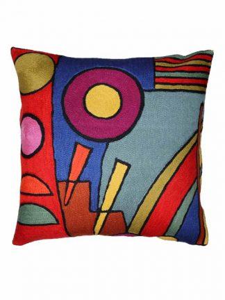 handmade cushion Kandinsky