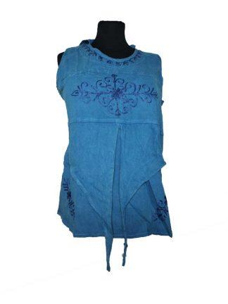 Top pixie hoodie blauw