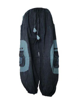 Nepal broek blauw nw