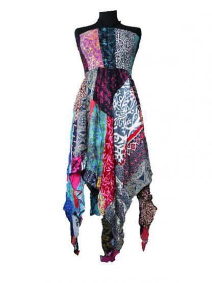 batik patchwork rok jurk punten