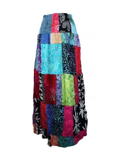patchwork rok batik