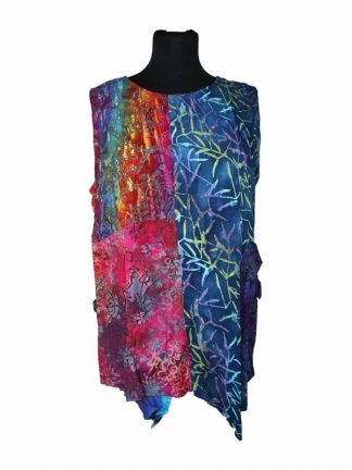 patchwork top paula batik