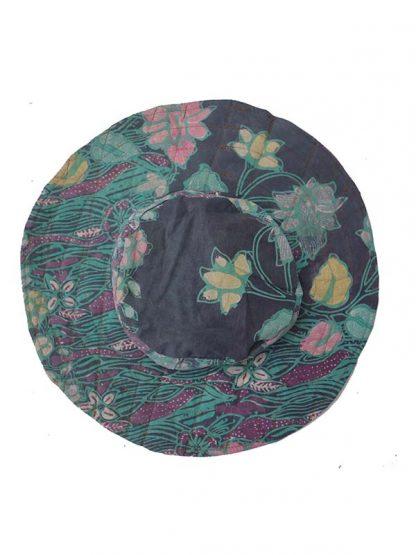 Batik hoed 4 kant 2a
