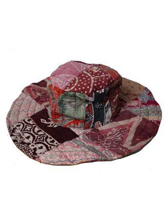 omkeerbare hoed roze/oker