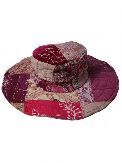 Omkeerbare batik hoed