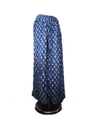 wijde blauwe broek