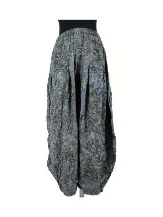 batik broek Lilly grijs