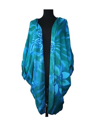 Crinkle vest batik