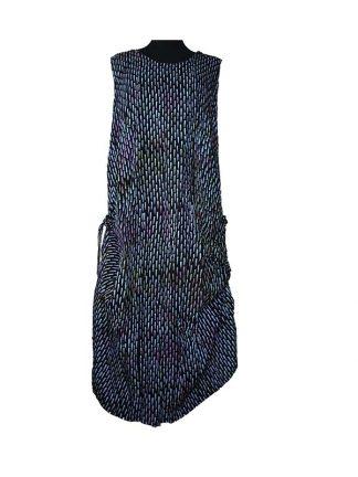 batik dress string