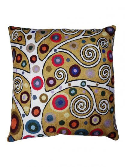 Sierkussen Levensboom Klimt