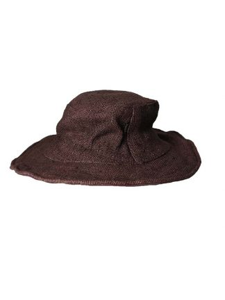 Hennep hoed bruin