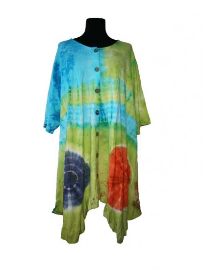Thombiq blouse tiedye