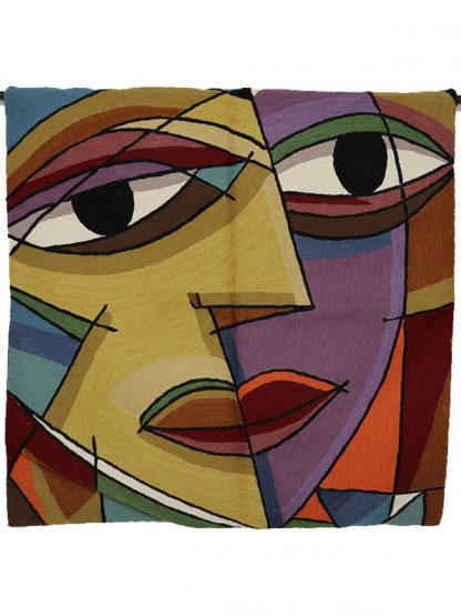 Wandkleed picasso face