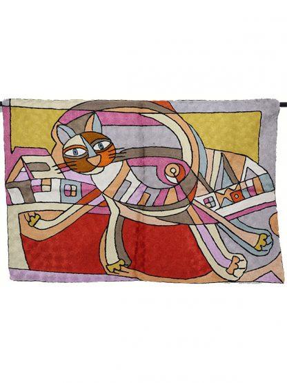 wandkleed kat