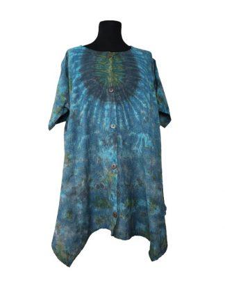 Plussize bloes tie dye