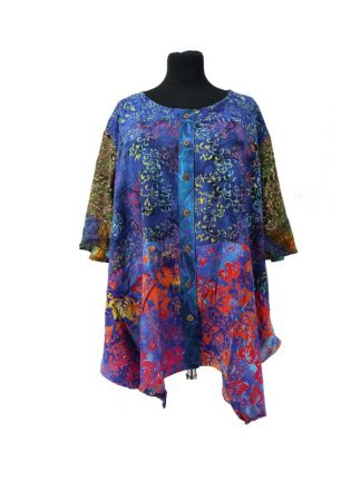 blouse paris patchwork
