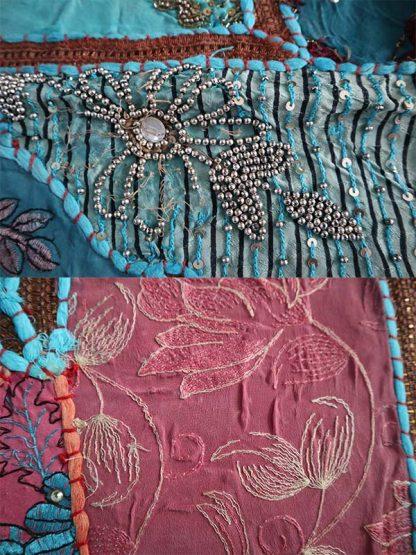 Wandkleed olifant details