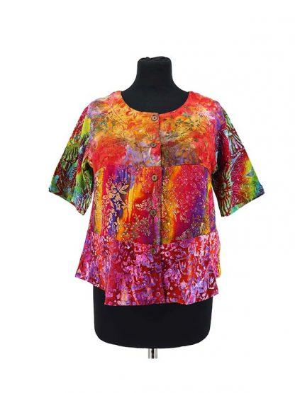Kort batik bloesje