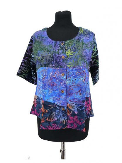 Blouse botton kleur 3