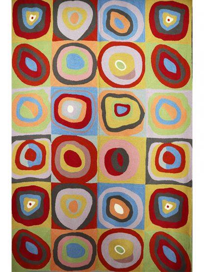 Tapijt Kandinsky circles