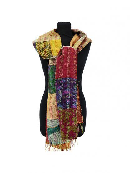 khaadi sjaal van zijde