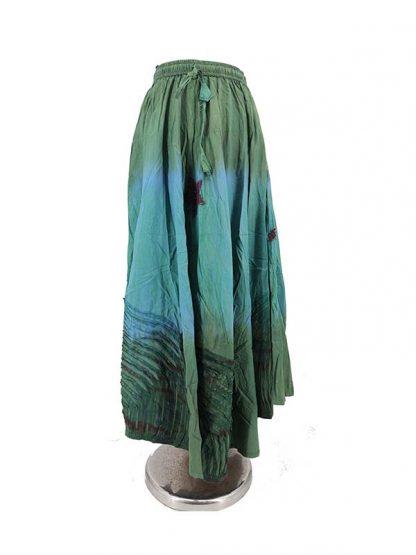 lange rok groen