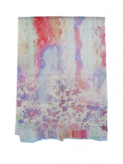 sjaal met vlinders