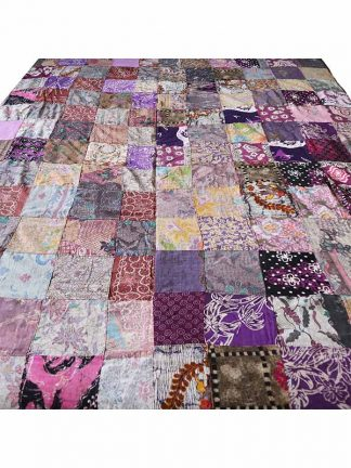 Patchwork batik grand foulard Bali 1c