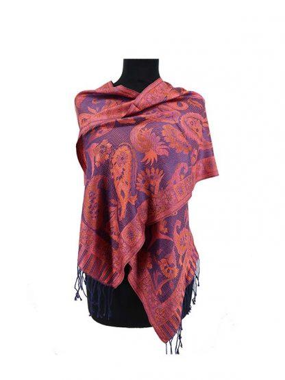 Zijden sjaaltje met paisley