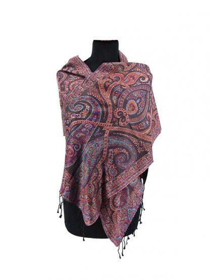 luxe zijden shawl