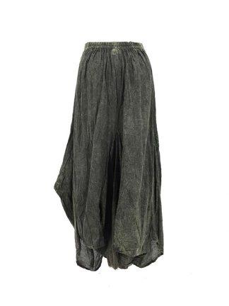 lange rok groen achterkant