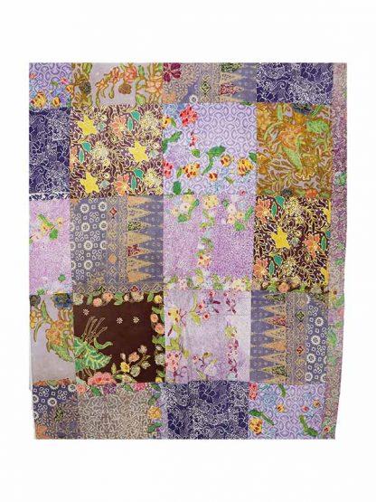 patchwork grand foulard