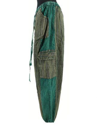 indiabroek groen zijkant